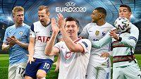Hvězdy na start! Výkladní skříň fotbalového EURO se otevírá dokořán...