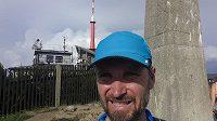 Kujanova odysea skončila v neděli na Lysé hoře, nejvyšším vrcholu Beskyd.