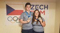 Bronzové medaile střelců Nikoly Mazurové a Filipa Nepejchala. Společný závod na Evropských hrách jim ale nevyšel.