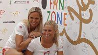 Lucie Hradecká a Andrea Hlaváčková spolu v příští sezóně nastupovat nebudou.