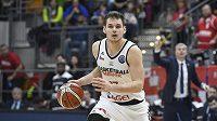 Basketbalista Jaromír Bohačík z Nymburka.
