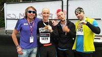 Jan Tuna si dá půlmaratón až v Olomouci, zbytek musel na trať, ale dali to všichni.