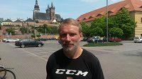 Trenér hokejistů Hradce Králové Tomáš Martinec.