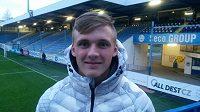 Mladík Martin Graiciar si užívá první starty v nejvyšší soutěži fotbalistů v barvách Slovanu Liberec.