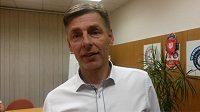 Trenér českobudějovických volejbalistů René Dvořák