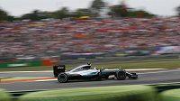 Nico Rosberg ovládl Velkou cenu Itálie formule 1.