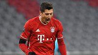 Kanonýr Bayernu Robert Lewandowski otevřel skóre zápasu 4. kola Ligy mistrů proti Salcburku.