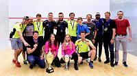Squashovou extraligu ovládly brněnské týmy.
