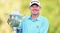 Americký golfista Jim Herman vyhrál turnaj v Greensboro.