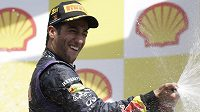 Australský pilot formule 1 Daniel Ricciardo.