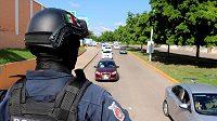 V Culiacanu zasahuje policice, ilustrační foto.