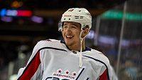 Hokejový útočník Washingtonu Jakub Vrána.
