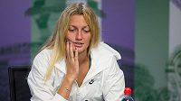 Petra Kvitová byla z vyřazení z Wimbledonu pořádně zklamaná.