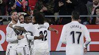 Bílý balet se raduje! Real Madrid právě vstřelil gól.