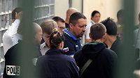 Lídr ruských fanoušků Alexandr Šprygin byl podruhé vyhoštěn z mistrovství Evropy.