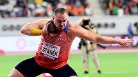 Tomáš Staněk ve finále MS v Dauhá.