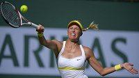 Andrea Hlaváčková na turnaji v Indian Wells.