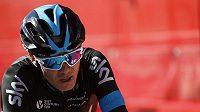 Cyklista týmu Sky Chris Froome na Vueltě.