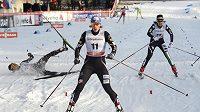 Američanka Kikkan Randallová vyhrála sprint SP v Lahti.