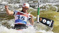 Kanoista Vojtěch Heger se stal v Krakově mistrem Evropy ve vodním slalomu v kategorii do 23 let.