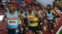 Běžec Kenenisa Bekele při mítinku Zlatá tretra 2013 v Ostravě.