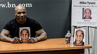 Bývalý boxerský šampión Mike Tyson u příležitosti prezentace své autobiografie v New Yorku.