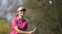 Golfistka Klára Spilková na turnaji Lotte Championship okruhu LPGA na Havaji. (ilustrační foto)