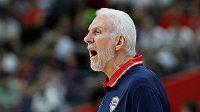 Legendární basketbalový kouč Gregg Popovich.