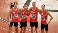Štafeta mužů na 4x400 metrů ve složení Patrik Šorm, Jan Tesař, Jan Kubista a Pavel Maslák, která na halovém mistrovství Evropy v atletice v Bělehradě vybojovala bronzovou medaili.