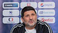 Beni Simitči, trenér futsalové Sparty.