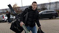 Hokejista Tomáš Mertl míří na reprezentační sraz v Letňanech.