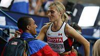 Manželé Eatonovi si z Moskvy odvezou dvě medaile.