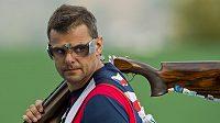 Sportovní střelec David Kostelecký na archivním snímku.