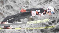 Norský skokan na lyžích Johann André Forfang při závodě SP ve Willingenu.