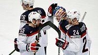 Hokejisté USA na MS v Rusku.