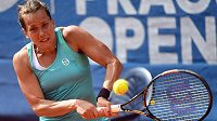 Barbora Strýcová do finále Prague Open nepostoupila