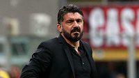 Gennaro Gattuso ještě coby kouč AC Milán.