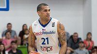 Český basketbalový reprezentant Blake Schilb.