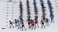 Mistrovství světa v klasickém lyžování v Oberstdorfu.