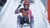 Němka Natalie Geisenbergerová vyhrála závod SP v Altenbergu.