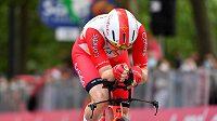 Cyklista Elia Viviani (na snímku z Gira) bude jedním z italských olympijských vlajkonošů.