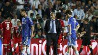 Kouč Chelsea José Mourinho netajil zklamání.