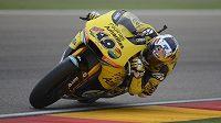 Španělský motocyklista Maverick Viňales.