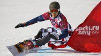 Ruský snowboardista Vic Wild.