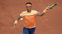 Rafael Nadal při dubnovém turnaji v Barceloně.