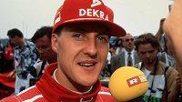 Michael Schumacher na archivním snímku.