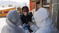 V neděli zemřel na následky nákazy koronavirem prezident fotbalové federace Bolívie (FBF) César Salinas (ilustrační foto)