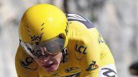 Lídr Tour de France Brit Chris Froome bez problémů zvládl 13. etapu - časovku.