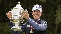 Korejská golfistka Kim A-lim vyhrála poslední major sezony.