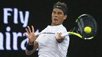 Rafael Nadal ve finále Australian Open.